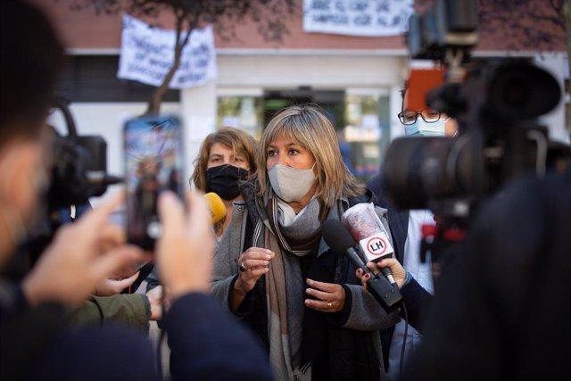L'alcaldessa de l'Hospitalet de Llobregat i presidenta del PSC, Núria Marín.