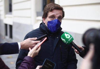 """Almeida dice que le preocupa más el papel de Bildu y ERC que la """"nula"""" capacidad de influencia de militares retirados"""