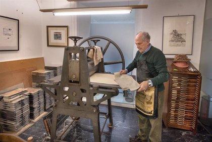 El artista José Antonio Eslava dona al Museo de Navarra su taller de estampación