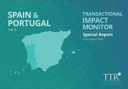 El importe de las operaciones de M&A muestra una tendencia optimista para España en 2021, según TTR