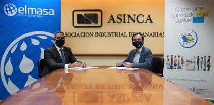 La empresa Elmasa Tecnología del Agua se suma a la marca 'Elaborado en Canarias'