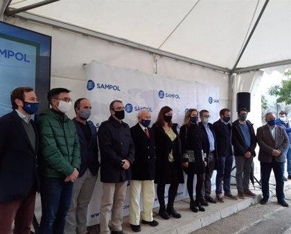 Armengol inaugura la reforma de la planta de alta eficiencia energética de Grupo Sampol