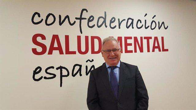 El presidente de Confederación Salud Mental España, Nel González Zapico