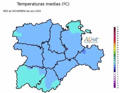 CyL registró el tercer mes de noviembre más cálido desde 1971