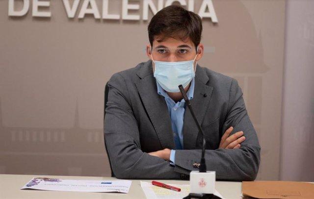 El regidor d'Hisenda en l'Ajuntament de València, Borja Sanjuan.