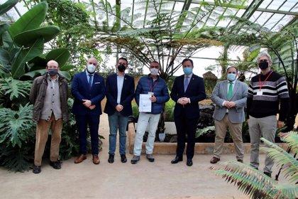 CAAE entrega el primer certificado de Jardín de Excelencia Ecológica al Botánico de Castilla-La Mancha