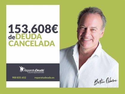 COMUNICADO: Repara tu Deuda abogados cancela 153.608 € de deuda en Barcelona, con la Ley de Segunda Oportunidad