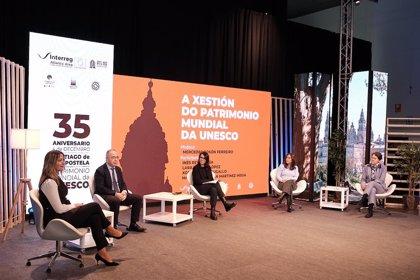 """Santiago celebra sus 35 años como Patrimonio Mundial con una llamada a la """"responsabilidad"""" para la preservación futura"""
