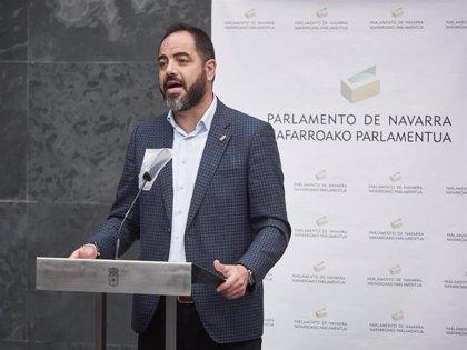 """Alzórriz dice que, """"frente a quienes quieren acabar con el régimen foral, PSN seguirá apostando por el Convenio navarro"""""""