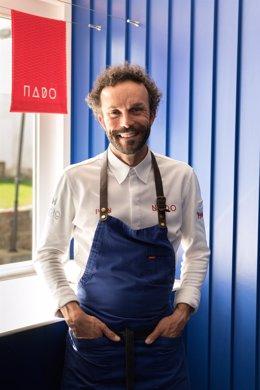 El chef Iván Domínguez