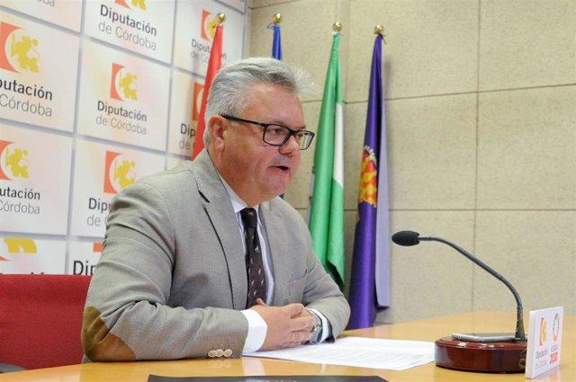 El portavoz del PSOE en la Diputación de Córdoba, Esteban Morales, en una imagen de archivo.