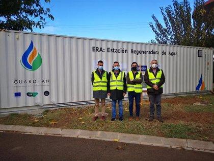 La estación regeneradora del Proyecto Guardian permitirá reutilizar agua desde La Vallesa para prevención de incendios