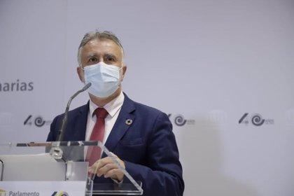 """Torres niega """"un choque"""" con el Estado por los antígenos y sostiene que Canarias merece una excepcionalidad"""