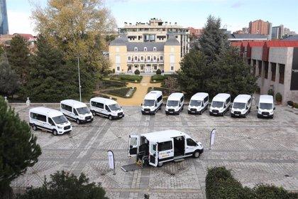 Ford España, Fundación ONCE y Real Patronato sobre Discapacidad entregan 11 vehículos adaptados