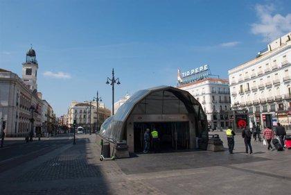 La estación de Metro de Sol cerrará todos los sábados de 19 a 20 horas desde mañana hasta el 2 de enero