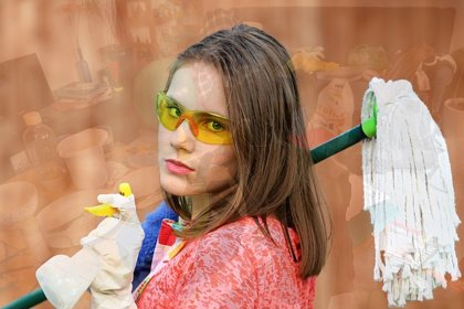 Los desinfectantes con peróxido de hidrógeno pueden contaminar el aire y ser un riesgo para la salud