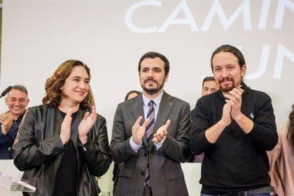 Podemos, IU y los comunes estrechan vínculos este sábado en una reunión con intervenciones de Iglesias, Garzón y Colau