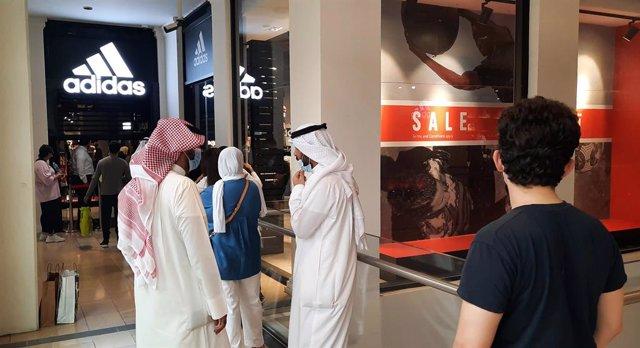 Centro comercial en Kuwait