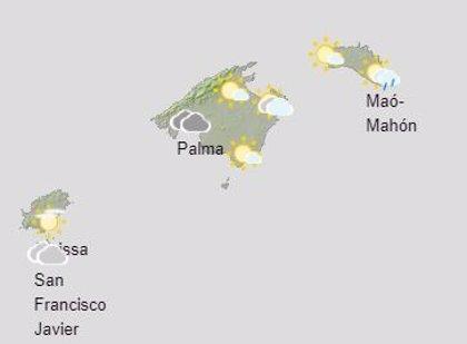 El tiempo, hoy sábado 5 de diciembre, en Baleares