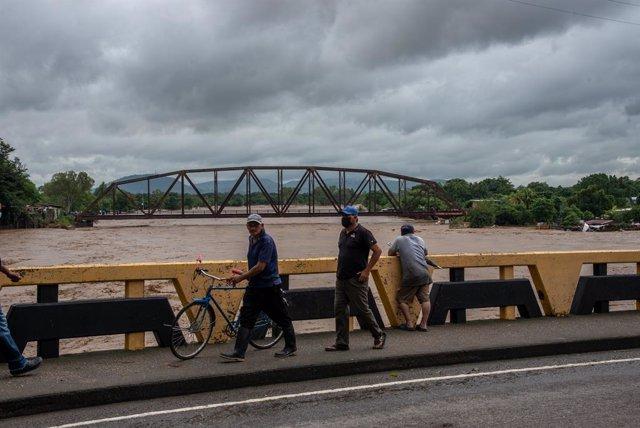 Paso del huracán Iota por Nicaragua