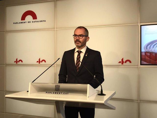 El vicepresident primer del Parlament, Josep Costa