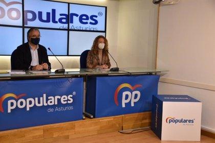Mallada (PP) critica que las cuentas no contemplen la reforma de la Administración