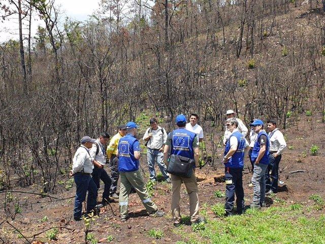 Infoca imparte formación a técnicos y fiscales de Guatemala interesados en la experiencia andaluza