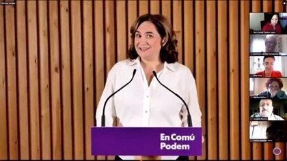 """Colau celebra la aprobación de los PGE: """"Nos decían que España era irreformable"""""""