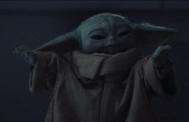Grogu (Baby Yoda) en The Mandalorian