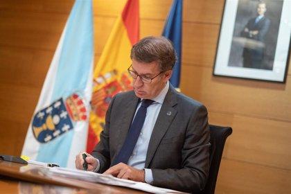 """Feijóo pide por carta al delegado del Gobierno y a alcaldes """"un esfuerzo adicional"""" para evitar incumplimientos"""