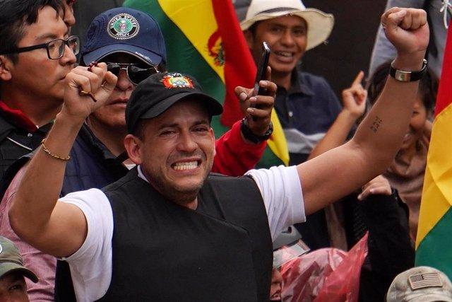 El opositor boliviano Luis Fernando Camacho