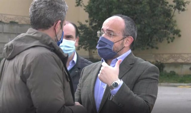 El president del PP català, Alejandro Fernández