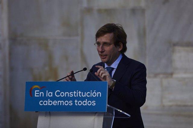 L'alcalde de Madrid, José Martínez-Almeida