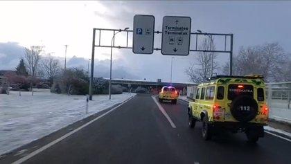 Los puertos alaveses Azazeta, Herrera, Kurtzeta, Opakua y Orduña precisan cadenas para todo tipo de vehículos por nieve