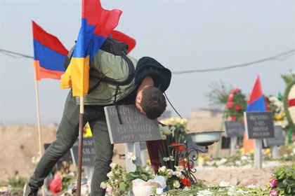 """Movilizaciones en Armenia contra el primer ministro por """"capitular"""" ante Azerbaiyán en Nagorno Karabaj"""