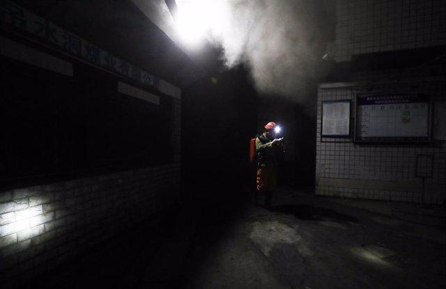 Fuga de monóxido de carbono en una mina de Chongqing (China)