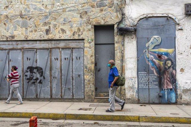 Una calle de Caracas
