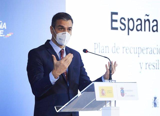 El president del Govern central, Pedro Sánchez,