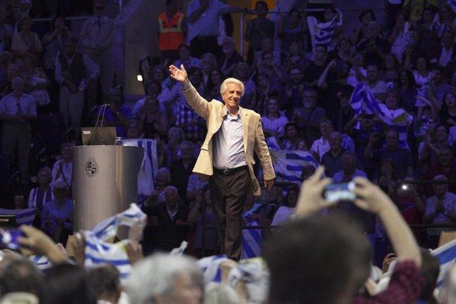 El expresidente de Uruguay Tabaré Vázquez