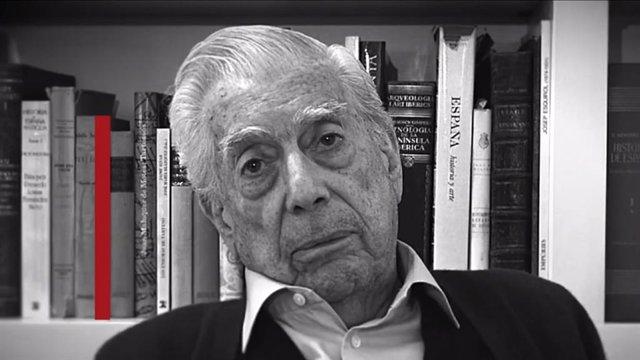 L'escriptor Mario Vargas Llosa en un vídeo pel dia de la Constitució del 2020