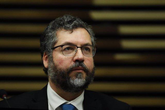 El ministro de Asuntos Exteriores de Venezuela, Ernesto Araujo,