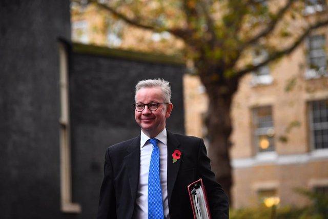 Michael Gove, ministro jefe de Gabinete y 'número dos' del Gobierno británico