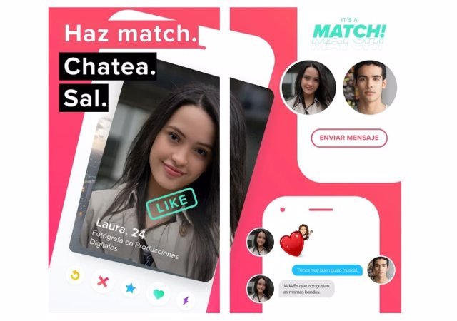 Aplicación de citas Tinder