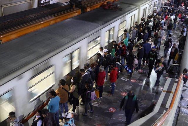Estación de metro en Ciudad de México