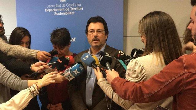 El secretari de Mobilitat i Infraestructures de la Generalitat, Isidre Gavín.