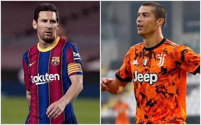 Messi (Barcelona) y Cristiano (Juventus)