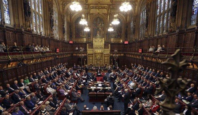 La Cámara de los Comunes.