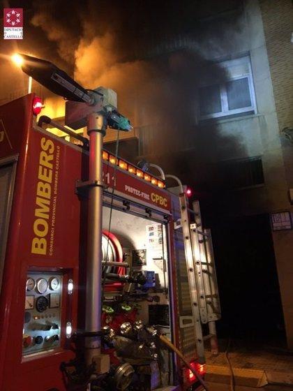 Rescatadas dos personas de un incendio de vivienda en Jerez de la Frontera (Cádiz)