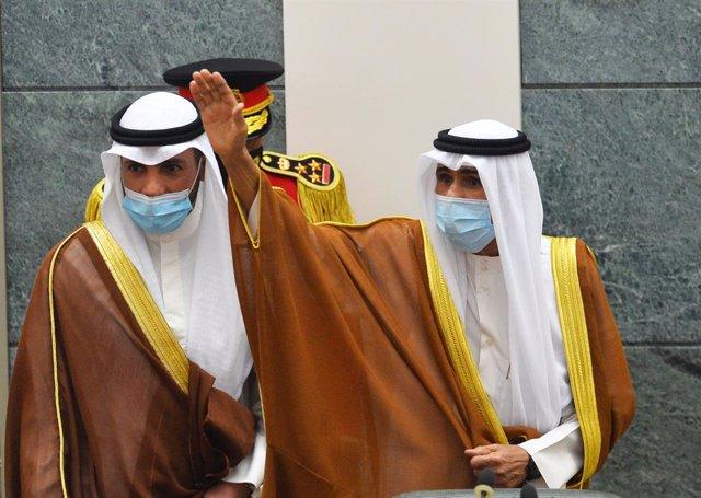 El nuevo emir de Kuwait, jeque Nawaf al Ahmad al Jaber al Sabá