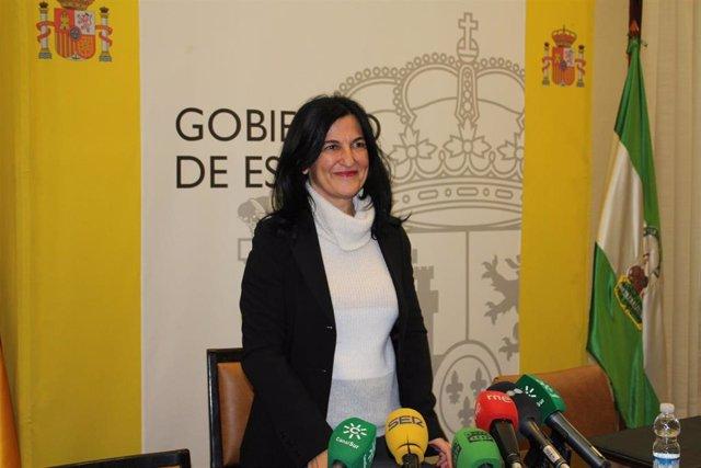 La subdelegada del Gobierno en Granada, Inmaculada López Calahorro.